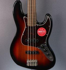 Squier DEMO Squier Classic Vibe '60s Jazz Bass Fretless - 3-Color Sunburst (475)