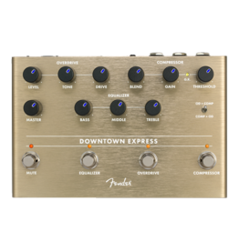 Fender NEW Fender Downtown Express Bass Multi Effect Pedal