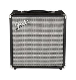 Fender NEW Fender Rumble 25 (V3) - Black/Silver (210)