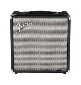 Fender NEW Fender Rumble 25 (V3) - Black/Silver (127)
