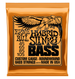 Ernie Ball NEW Ernie Ball Hybrid Slinky Bass Strings - .045-.105
