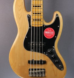 Squier DEMO Squier Classic Vibe '70s Jazz Bass V - Natural (607)