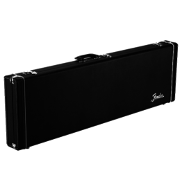 Fender NEW Fender Classic Series Wood Case - Mustang/Duo Sonic - Black