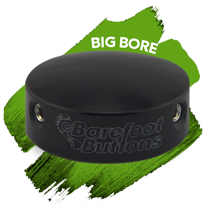 Barefoot Buttons NEW Barefoot Buttons V1: Big Bore Black