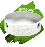Barefoot Buttons NEW Barefoot Buttons V1: Big Bore Silver