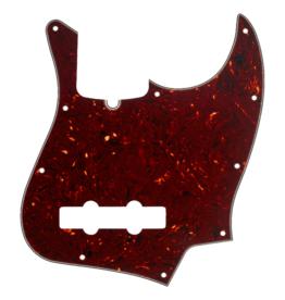 NEW Fender Jazz Bass Pickguard 10-Hole - Tortoise