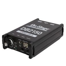 NEW On-Stage Passive USB DI Box
