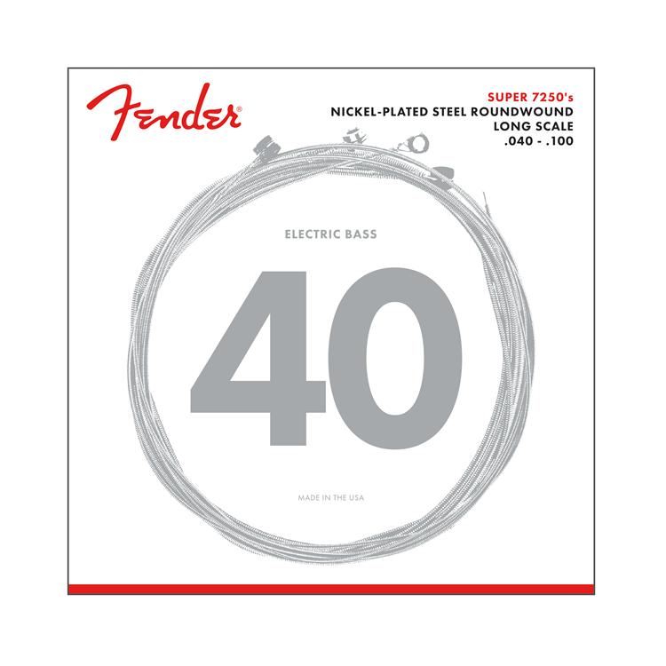 Fender NEW Fender 7250L Bass Strings - .040-.100