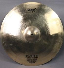 "Sabian USED Sabian 21"" AAX Raw Bell Dry Ride - 22172X (927)"