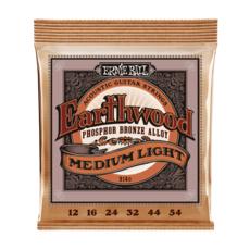 Ernie Ball NEW Ernie Ball Earthwood Phosphor Bronze - Medium/Light - .012-.054