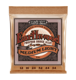 Ernie Ball NEW Ernie Ball Earthwood Phosphor Bronze - Medium/Light - .012-.054