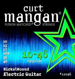 Curt Mangan NEW Curt Mangan Nickel Wound Electric Strings - .010-.046