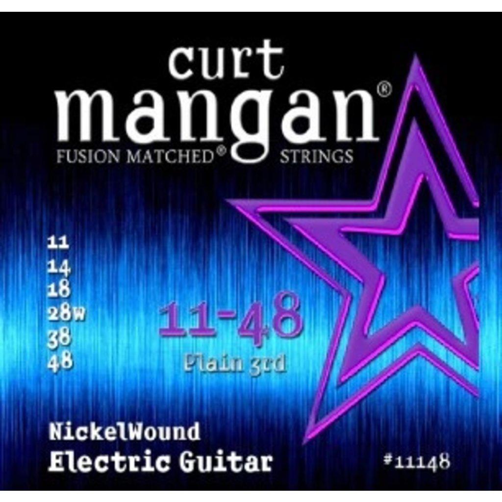 Curt Mangan NEW Curt Mangan Nickel Wound Electric Strings - .011-.048
