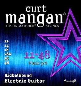 Curt Mangan NEW Curt Mangan Nickel Wound Electric Strings - .011-.048