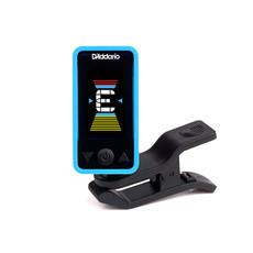 D'Addario NEW D'Addario Eclipse PW‑CT‑17 Eclipse Chromatic Clip‑On Tuner - Blue