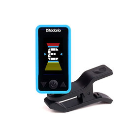 D'Addario NEW D'Addario Eclipse PW‑CT‑17 Eclipse Chromatic Clip‑On Tuner - Blue