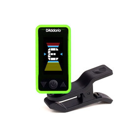 D'Addario NEW D'Addario Eclipse PW‑CT‑17 Eclipse Chromatic Clip‑On Tuner - Green
