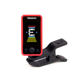 D'Addario NEW D'Addario Eclipse PW‑CT‑17 Eclipse Chromatic Clip‑On Tuner - Red