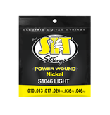 SIT NEW SIT Power Wound Electric Guitar Strings - Light - .010-046