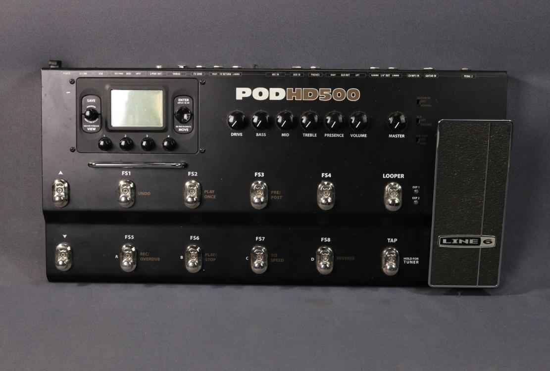 Line 6 POD HD300 vs hd500