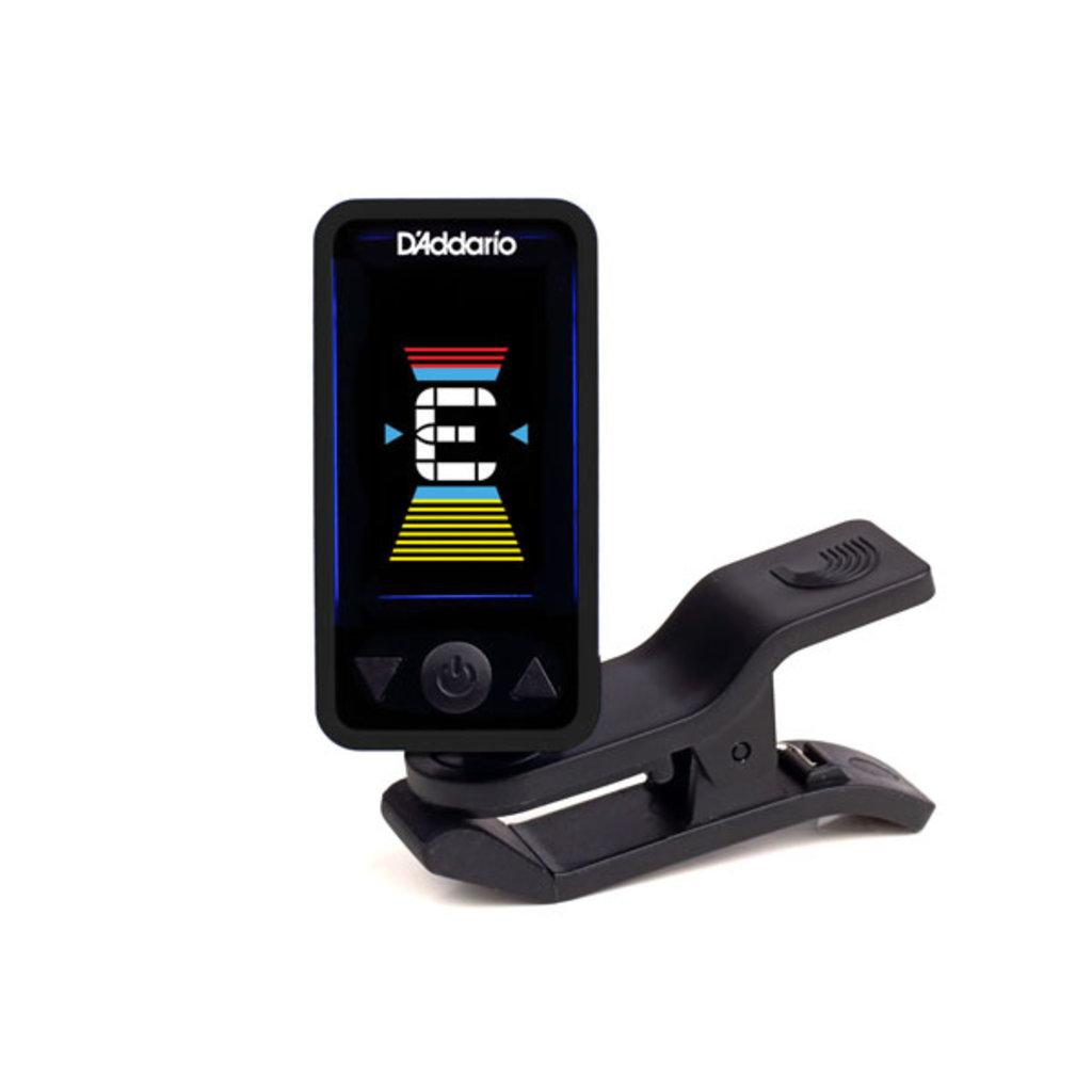 D'Addario NEW D'Addario Eclipse PW‑CT‑17 Eclipse Chromatic Clip‑On Tuner - Black