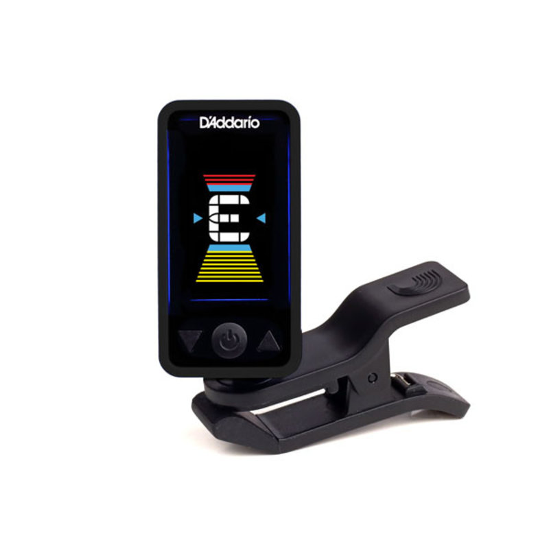 D'Addario NEW D'Addario Eclipse PW‑CT‑17 Eclipse Chromatic Clip‑On Tuner - Black
