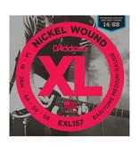 D'Addario NEW D'Addario EXL157 Electric Strings - Medium Baritone - .014-.068