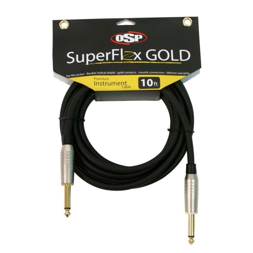 SuperFlex NEW SuperFlex GOLD SFI-10SS Premium Instrument Cable 10'
