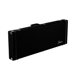 Fender NEW Fender Classic Series Wood Case - Jazzmaster/Jaguar - Black