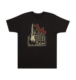 Fender NEW Fender Amp Building T-Shirt - Coal - L