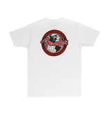 Fender NEW Fender Spaghetti Logo Globe T-Shirt - White - XXL