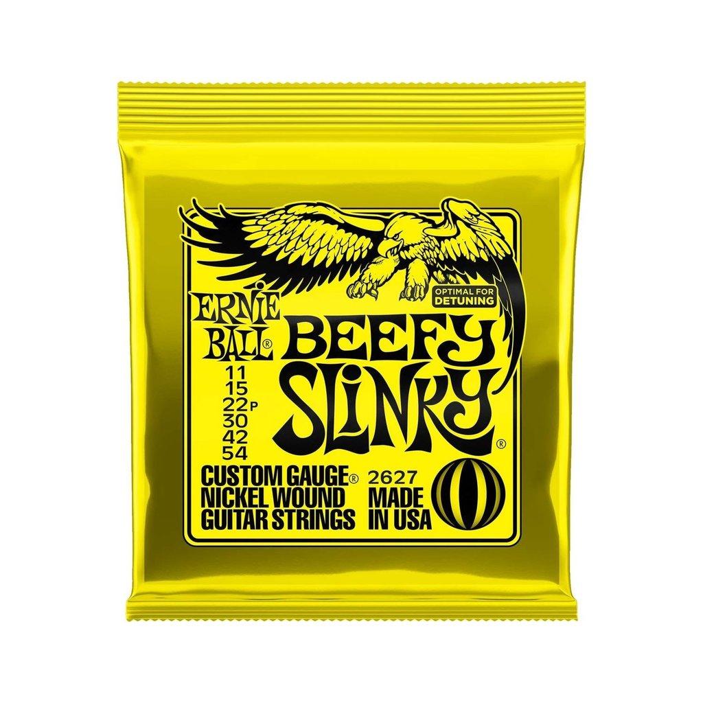 Ernie Ball NEW Ernie Ball Beefy Slinky Electric Strings - .011-.054