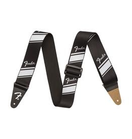 Fender NEW Fender Competition Stripe Strap - Silver