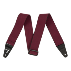 Fender NEW Fender WeighLess Tweed Strap - Red
