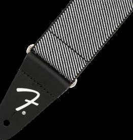 Fender NEW Fender WeighLess Tweed Strap - White