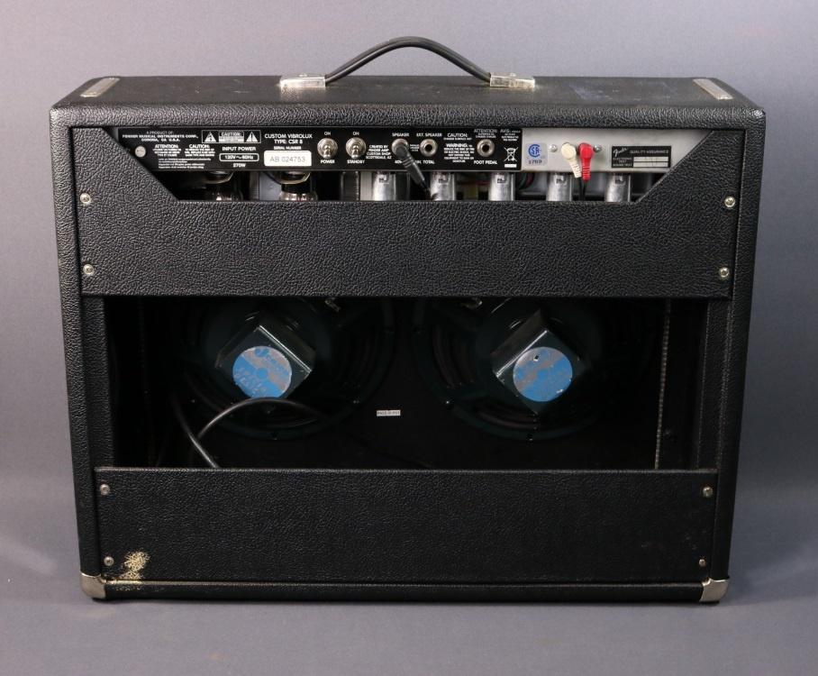 used fender custom vibrolux reverb 451 mountain music exchange. Black Bedroom Furniture Sets. Home Design Ideas