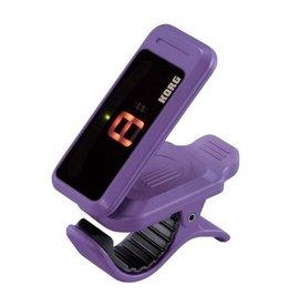 Korg NEW Korg Pitchclip PC-1 Clip-On Tuner - Violet