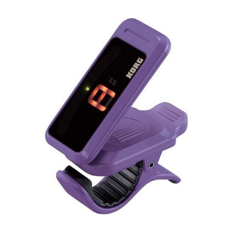 Korg NEW Korg Pitchclip PC-1 Clip-On Tuner - Violet