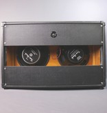 "USED Horizontal 2x12"" Cabinet with Two-Rock Speakers (011)"