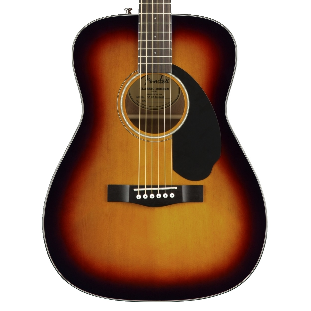 Fender NEW Fender CC-60S Concert - 3-Color Sunburst (803)