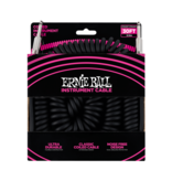 Ernie Ball NEW Ernie Ball Coiled Instrument Cable - Straight/Straight - Black - 30'