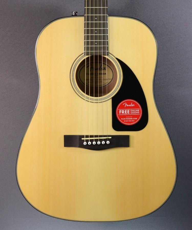 Fender DEMO Fender CD-60 V3 w/Case - Natural (837)