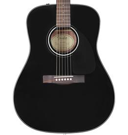 Fender NEW Fender CD-60 Dreadnought V3 w/Case - Black (701)