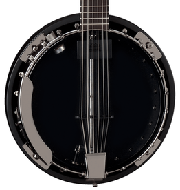 Dean NEW Dean Backwoods 6 Banjo w/ Pickup - Black Chrome