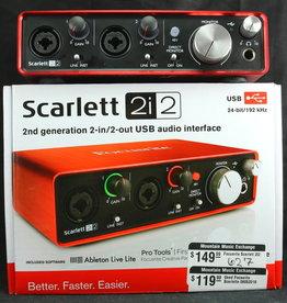 Focusrite USED Focusrite Scarlett 2i2 (627)