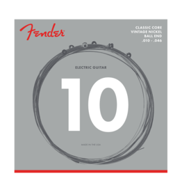 Fender NEW Fender Classic Core Electric Strings - Vintage Nickel - .010-.046 - Ball End