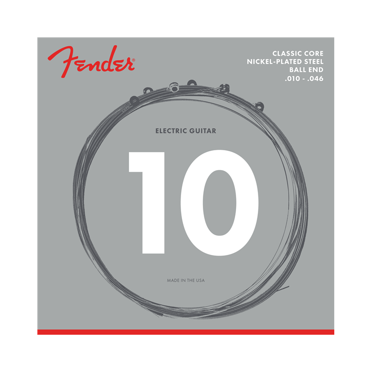 Fender NEW Fender Classic Core Electric Strings - Nickel Plated Steel - .010-.046 - Ball End