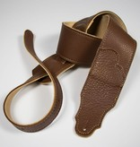 "Franklin Straps NEW Franklin 2.5"" Glove Leather/Caramel/Gold Stitching"