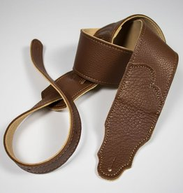 "Franklin Straps NEW Franklin 2.5"" Glove Leather/Caramel/Gold Stitching"