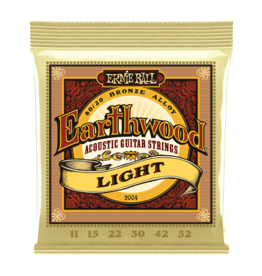Ernie Ball NEW Ernie Ball Earthwood 80/20 Acoustic Strings - Light - .011-52